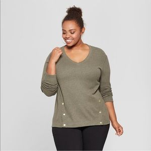 Sweaters - Ava & Viv Plus Size